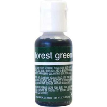 Гелиевая краска Chefmaster Liqua-Gel Forest Green